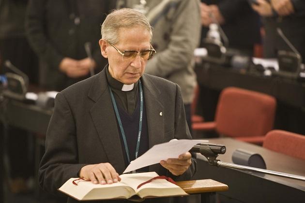 Adolfo Nicolás jura su cargo en 2008